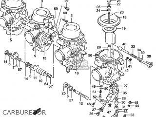 Suzuki       RF600R    1994  R  USA  E03  parts lists and    schematics