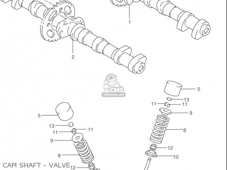 Suzuki Rf900 R 1994-1997 usa Cam Shaft - Valve