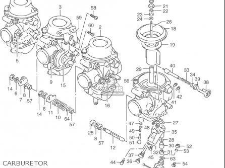 Suzuki Rf900 R 1994-1997 usa Carburetor