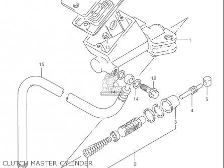 Suzuki Rf900 R 1994-1997 usa Clutch Master Cylinder