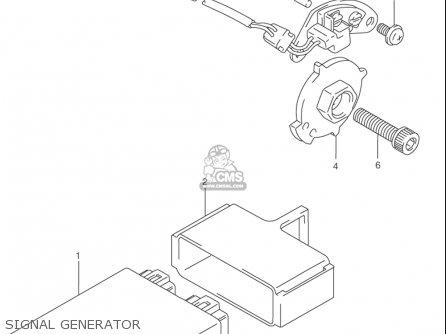 Suzuki Rf900 R 1994-1997 usa Signal Generator