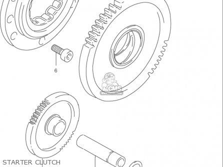 Suzuki Rf900 R 1994-1997 usa Starter Clutch