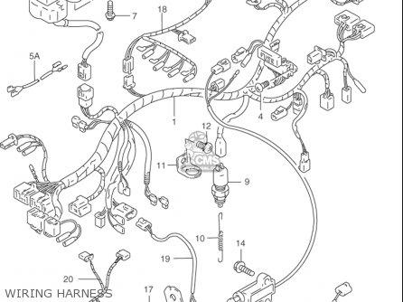 Suzuki Rf900 R 1994-1997 usa Wiring Harness