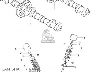Suzuki Rf900r 1994 r Usa e03 Cam Shaft - Valve