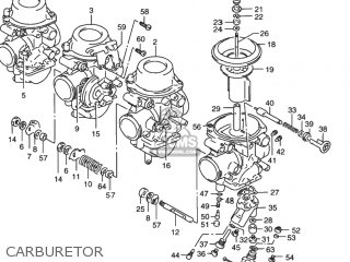 Suzuki Rf900r 1994 r Usa e03 Carburetor