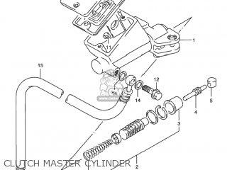 Suzuki Rf900r 1994 r Usa e03 Clutch Master Cylinder
