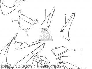 Suzuki Rf900r 1994 r Usa e03 Cowling Body rf900rr rs