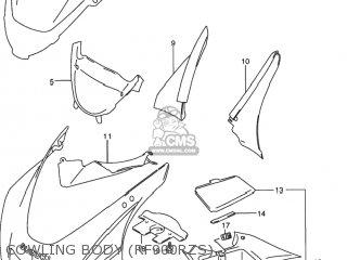 Suzuki Rf900r 1994 r Usa e03 Cowling Body rf900rzs