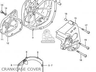 Suzuki Rf900r 1994 r Usa e03 Crankcase Cover