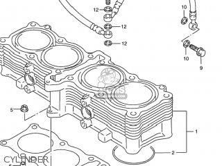 Suzuki Rf900r 1994 r Usa e03 Cylinder