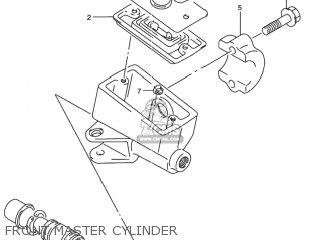 Suzuki Rf900r 1994 r Usa e03 Front Master Cylinder