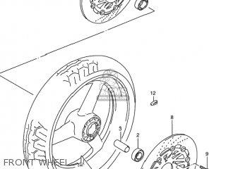 Suzuki Rf900r 1994 r Usa e03 Front Wheel