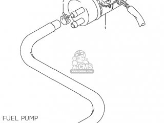Suzuki Rf900r 1994 r Usa e03 Fuel Pump