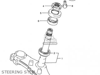 Suzuki Rf900r 1994 r Usa e03 Steering Stem