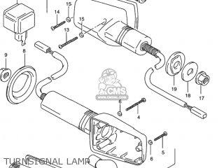 Suzuki Rf900r 1994 r Usa e03 Turnsignal Lamp