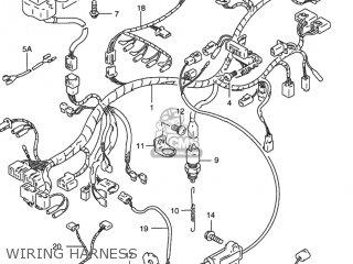 Suzuki Rf900r 1994 r Usa e03 Wiring Harness
