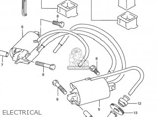 suzuki rf900r 1995 (s) usa (e03) electrical