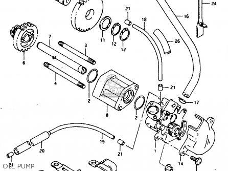 Suzuki Rg125f 1994 R E15 E18 E34 Parts Lists And Schematics