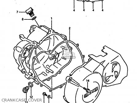 Suzuki Rgv250 1989 K E02 E04 E21 E24 E34 Parts Lists And Schematics
