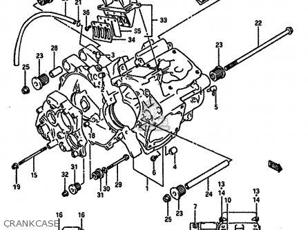 Suzuki Rgv250 1989 K E02 E04 E21 E24 E34 Parts Lists And Schematics