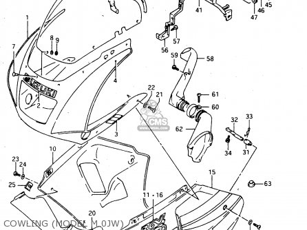 Suzuki Rgv250 1994 R E02 E04 E21 E24 E34 Parts Lists And Schematics