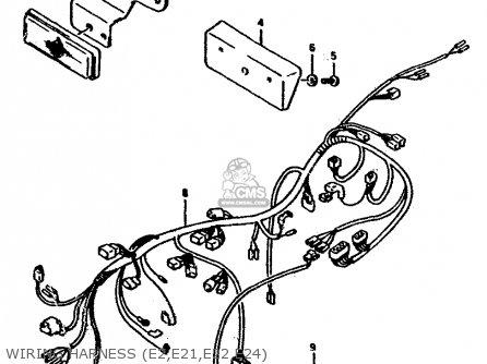 suzuki rgv250l 1991 m e02 e21 e22 e24 parts lists and. Black Bedroom Furniture Sets. Home Design Ideas