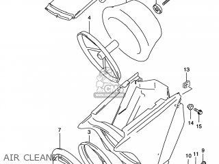 Suzuki Rm125 1996 t Usa e03 Air Cleaner