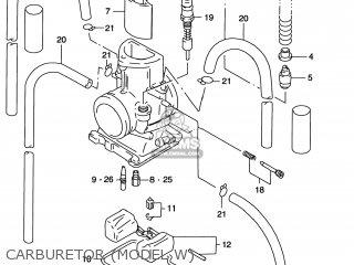 Suzuki Rm125 1996 t Usa e03 Carburetor model W
