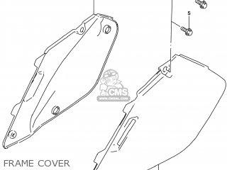 Suzuki Rm125 1996 t Usa e03 Frame Cover