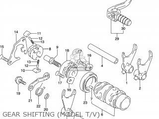 Suzuki Rm125 1996 t Usa e03 Gear Shifting model T v