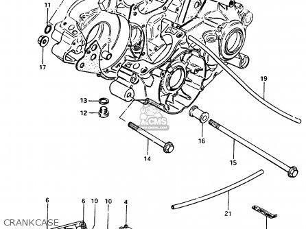 suzuki rm250 1983 d parts lists and schematics rh cmsnl com Suzuki RM 250 Transmission 2015 Suzuki RMZ 250
