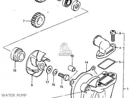 Suzuki Rm250 1983 D Parts Lists And Schematics