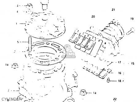Suzuki Rm250 1984 E Parts Lists And Schematics
