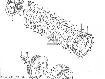 Rm 250 Clutch Diagram
