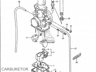 suzuki rm250 1989 k usa e03 parts lists and schematics rh cmsnl com