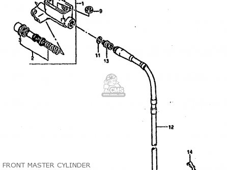 Clutch Slave Cylinder Diagram