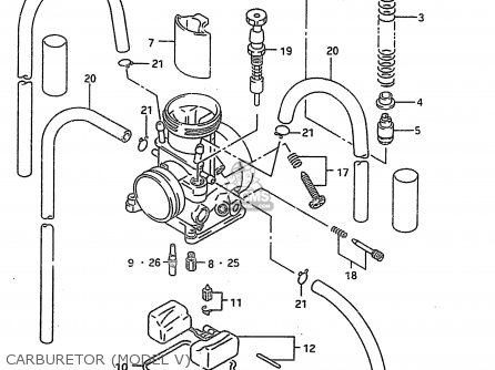 suzuki rm250 1998 (w) parts list partsmanual partsfiche chevy 250 engine diagram 2000 rm 250 engine diagram
