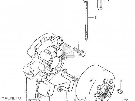 Suzuki RM250 2000 (Y) parts lists and schematics on