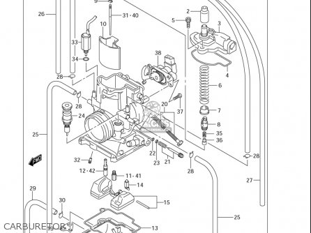 suzuki lt50 carb diagram
