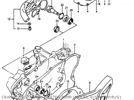 suzuki rm80x 1986 g parts lists and schematics rh cmsnl com 1983 suzuki rm80 repair manual suzuki rm80 service manual
