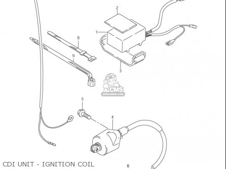 Suzuki Rm85  l usa Cdi Unit - Ignition Coil