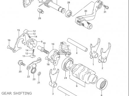 Suzuki Rm85  l usa Gear Shifting