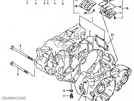 Suzuki Motorcycle Schematic