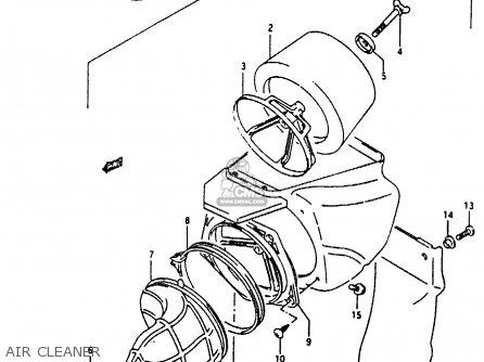 suzuki rmx250 1995  s  general  e01  parts list
