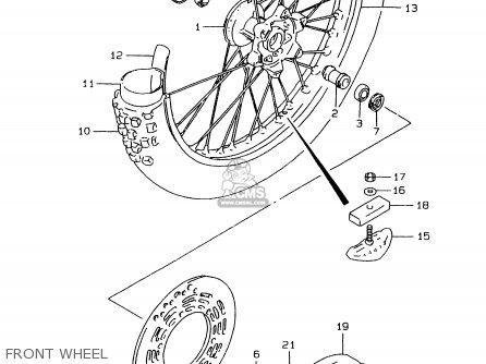 suzuki rmx250 1997  v  general  e01  parts list