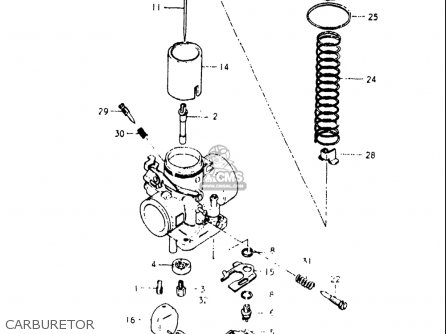 Suzuki Rs175 1980-1982 usa Carburetor
