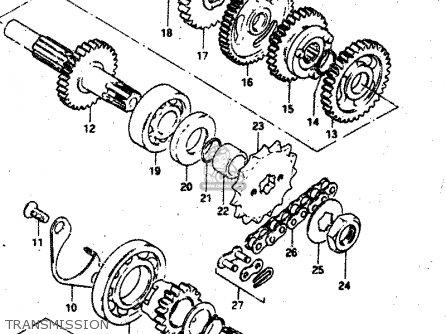 Suzuki Rv50 1981 X E01 Parts Lists And Schematics