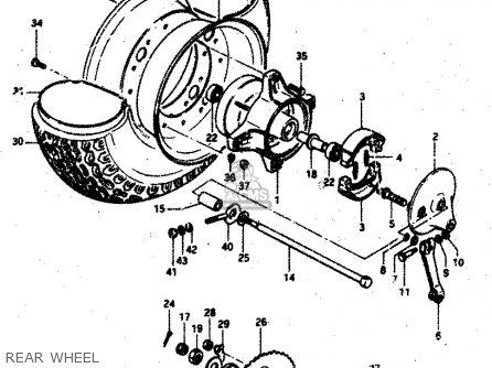 Harley Davidson Rear Wheel Axle Diagram Printable Wiring Diagram