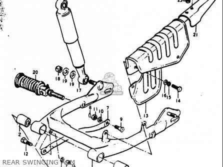 suzuki rv90 1972  j  usa  e03  parts lists and schematics