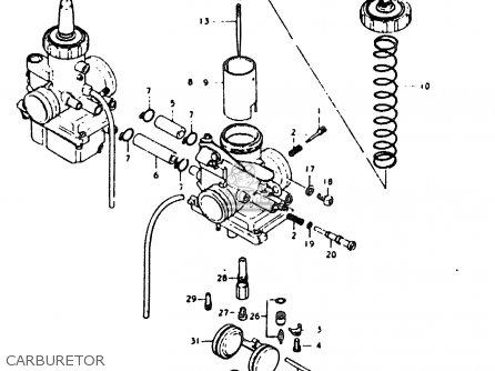 Suzuki Sb200 1979 n e02 Carburetor